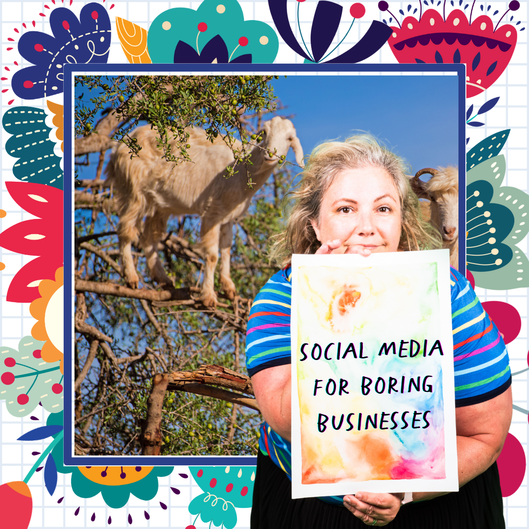 Social Media marketing strategy for small businesses who find it hard to write interesting content